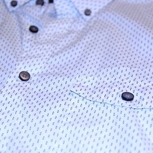 Express   Mens Fitted Dress Shirt